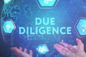 Due diligence for mergers and acquisitions
