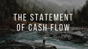 The statement of Cash flow