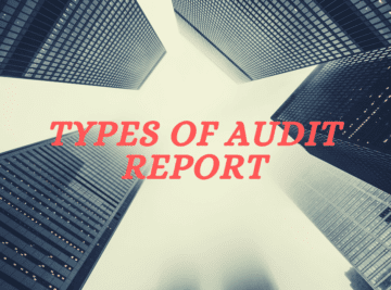 Types of Audit Report