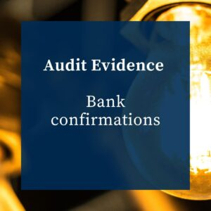 AUDIT EVIDENCE - BANK CONFIRMATIONS