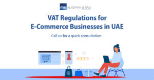 UAE VAT Regulations for E-Commerce